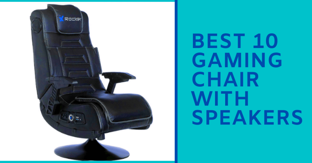 Gaming Chair With Speakers