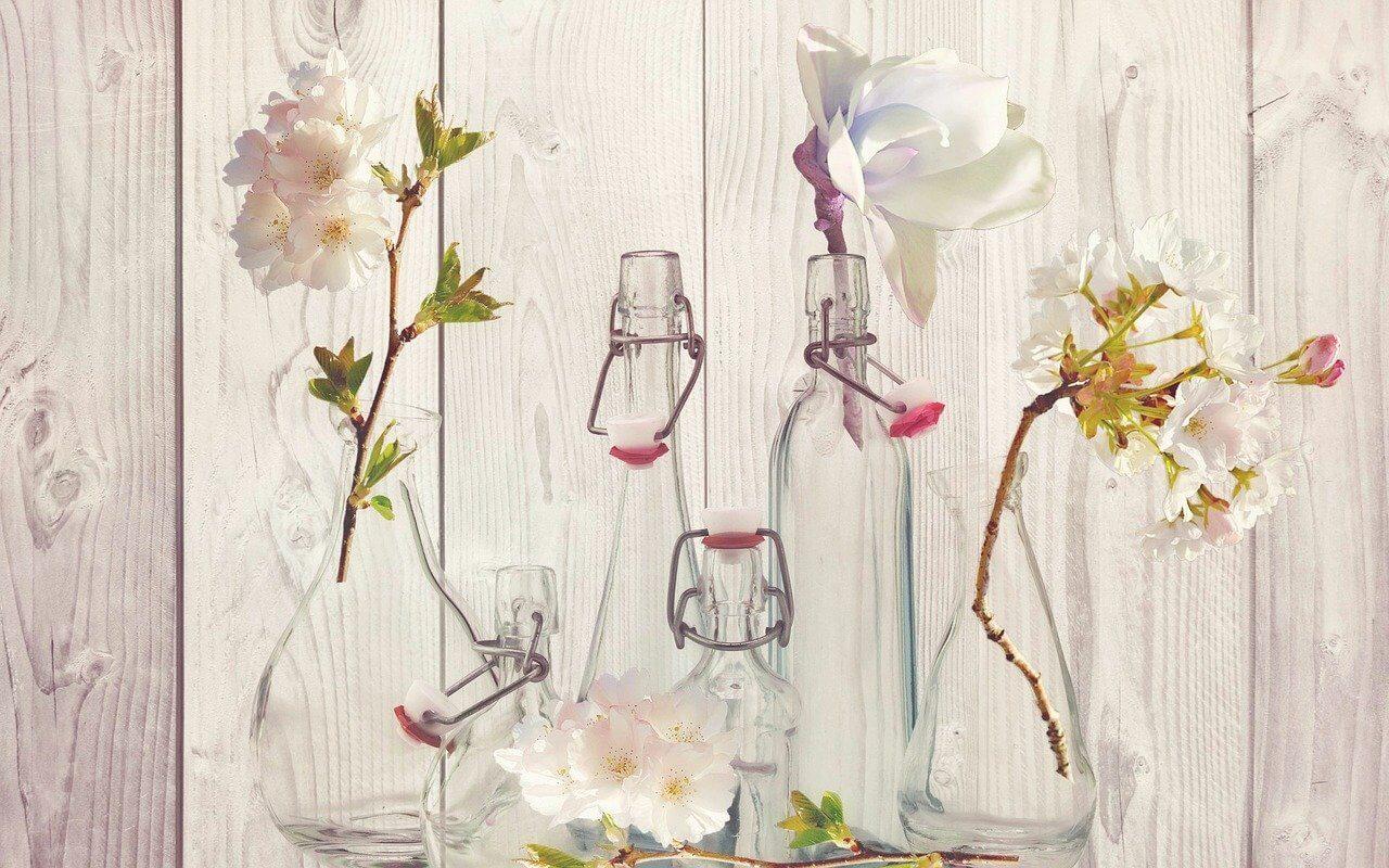 bedroom flower decoration