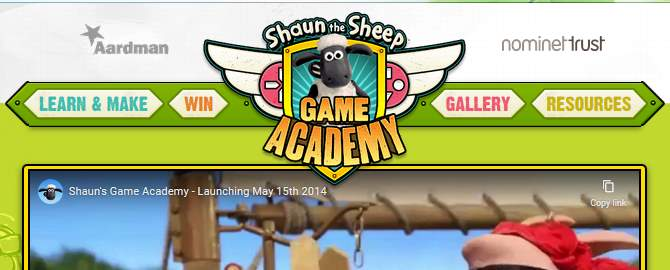 Shaun the Sheeps Game Academy