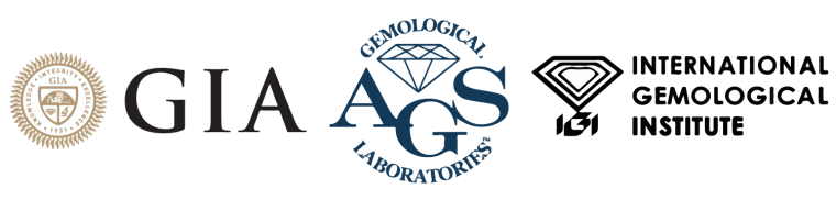 best custom engagement rings certified by GIA-AGSL-IGI