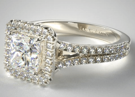 best custom engagement rings - 1 carat diamond ring