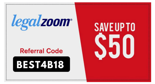 legalzoom referral code coupons save 10%