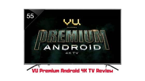 vu premium android tv
