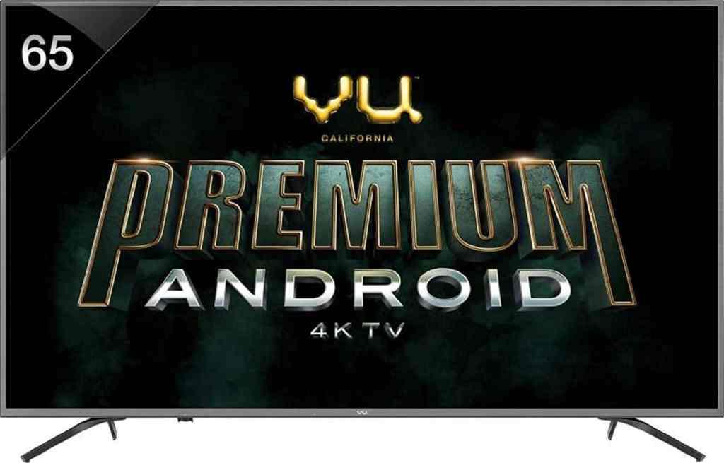 best 4K TV in India under 1.5 lakh vu oa