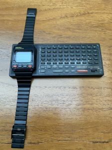 Seiko data 2000 computer watch
