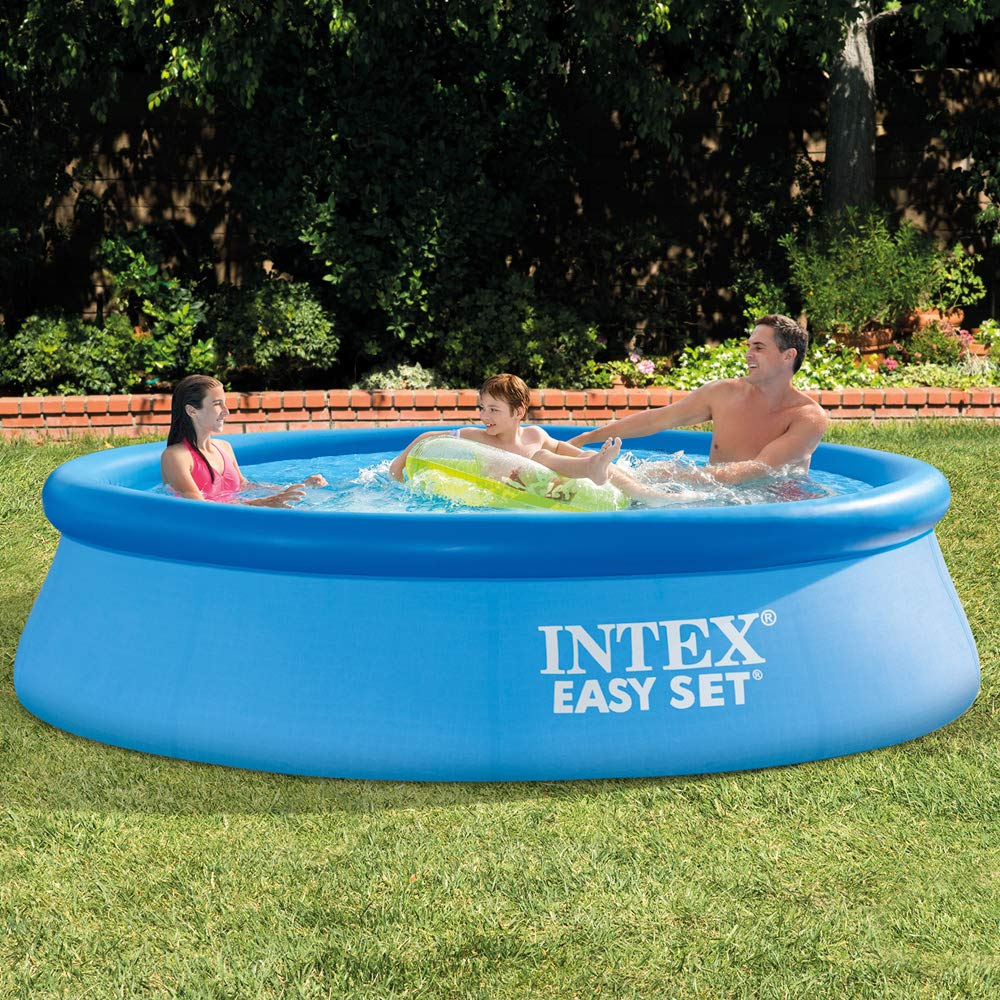The Intex Easy Set Round Pool Set Review – Perfect for Small Yards and Families