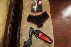 Bodystocking: Fiore Shoes: Guess