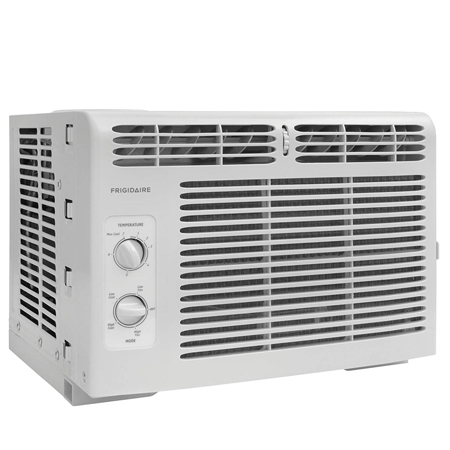 Frigidaire FFRA0511R1 E 5, 000 BTU 115V Window-Mounted Mini-Compact Air Conditioner with Mechanical Controls