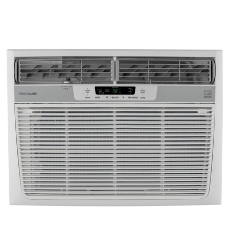 Frigidaire FFRE1533Q1 15,100 BTU 115V Window-Mounted Median Air Conditioner with Temperature Sensing Remote Control