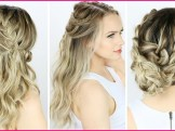 Easy Formal Hairstyles 2018