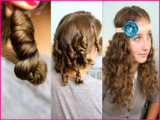 Waves Easy Hairstyles for School