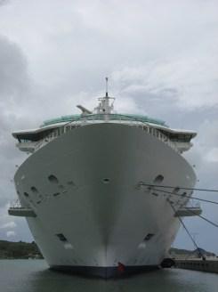 Antigua Cruise Ship Bow