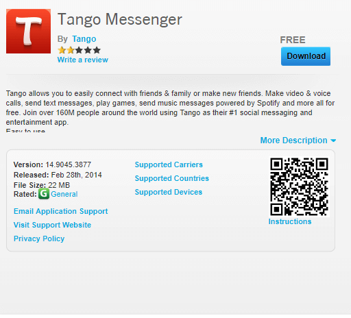Tango for BlackBerry Download [New Version] - Best Apps Buzz