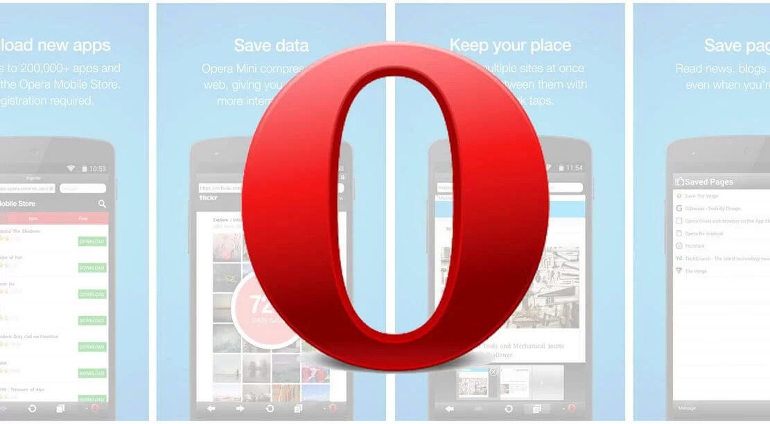 Opera Mini Apk for Android Download [Latest Version]