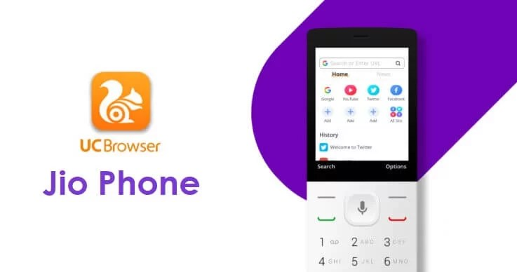 UC Browser for Jio Phone