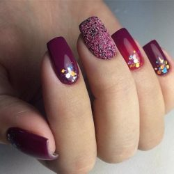 2017 French Manicure Nail Art For Usa