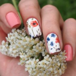 Flower Nail Art The Best Images Bestartnails Com