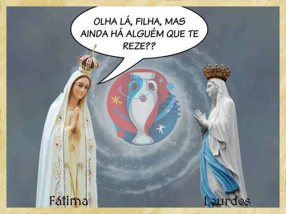 Nª Srª de Fátima vs. Nª Srª de Lurdes
