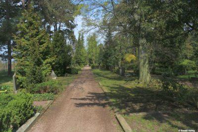 Hauptweg Hauptfriedhof