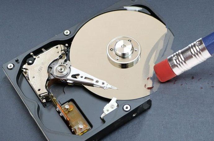 Secure data wipe