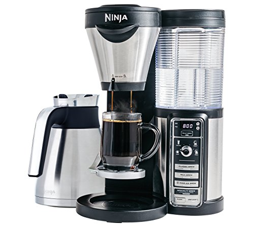 Ninja Home Kitchen Countertop Coffee Bar Brewer System with Glass Carafe System