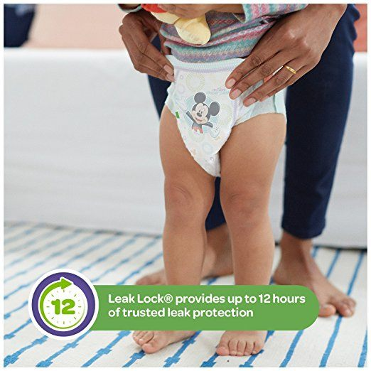 HUGGIES Little Movers Slip On Diaper Pants, Size 4