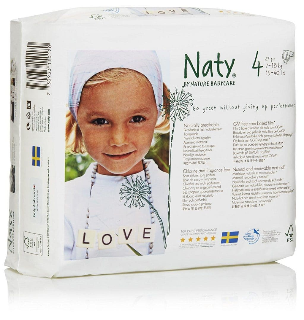 Nature Babycare Diapers Case Size 4 108ct