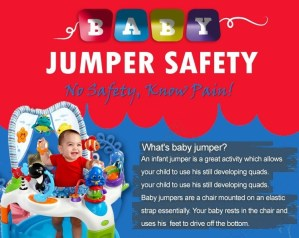 safety tips best baby jumper