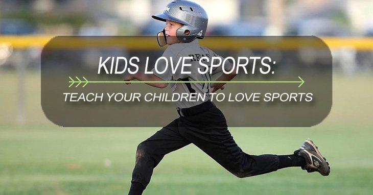 kids love sports