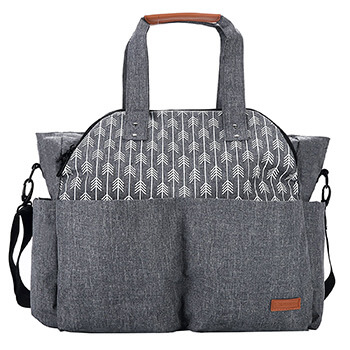 Lekebaby Large Diaper Bag