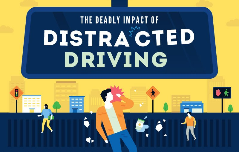 the deadly impact of distract driving