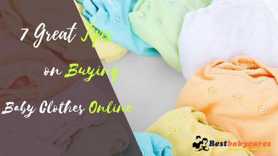 7 Great Tips on Buying Baby Clothes Online