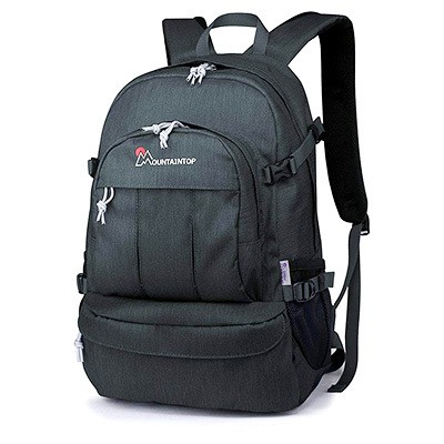 d1897cb2323a Mountaintop Casual Daypack College Backpack for Travel Hiking Rucksack