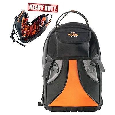 Rugged Tools Tradesman Tool Backpack