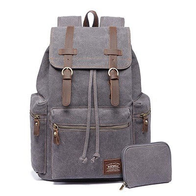 KAUKKO Canvas Vintage Backpack