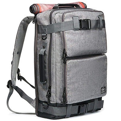 KAUKKO Vintage Canvas Laptop Backpack