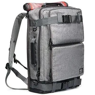 2d2b969b354 5. KAUKKO Vintage Canvas Laptop Backpack