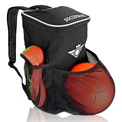 Soccer Backpack With Ball Holder Compartment
