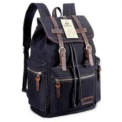Bluboon Canvas Vintage Backpack
