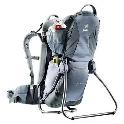 3c42ce547b5 Deuter Kid Comfort 1 Lightweight Framed Child Carrier For Hiking