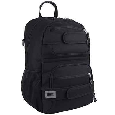 Eastsport Multi Compartment Skater Backpack With High-Density Padded Straps