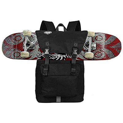 Huntvp Fashion Sports Backpack Skateboard Backpack