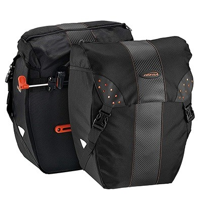 Ibera Велосипедная Сумка PakRak Clip-On Quick-Release All Weather Bike Panniers