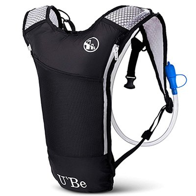 U`Be Hydration Camelback Water Pack Backpack