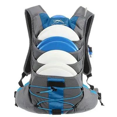 Upper Park Designs Disc Golf Bag Focus V5 Extra Light Disc Golf Backpack