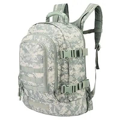 245008701e21 Armycamo USA Expandable Military Tactical Backpack