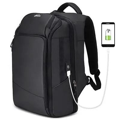 Fresion Men's Laptop Charging Backpack