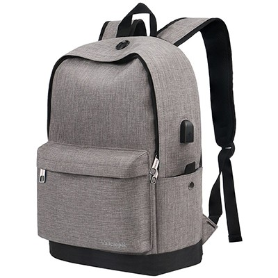 dce8795aa48e Best For Students. Vancropak Charging Backpack