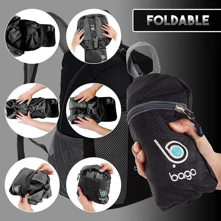 Bago backpack foldable