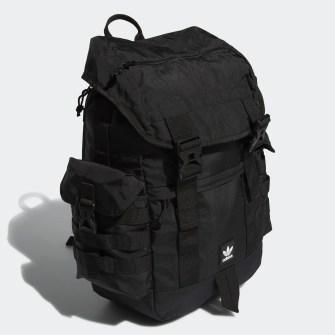 black adidas urban utility backpack